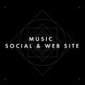 MUSIC SOCIAL & WEB SITE